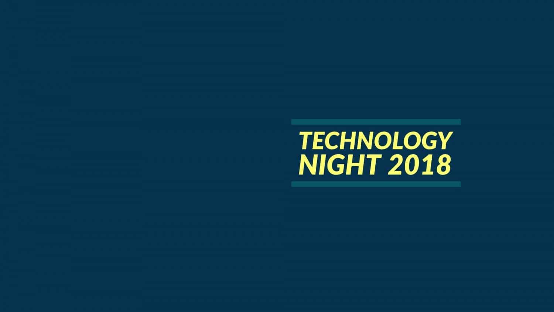 Technology Night 2018 Titelbild