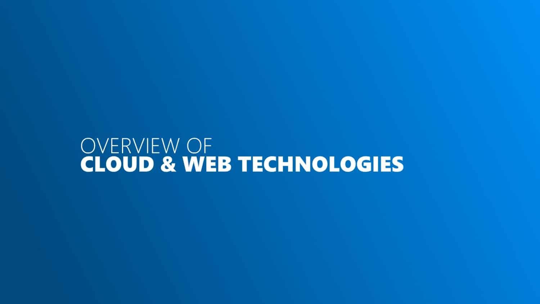 Cloud Testing Webtechnologien Titelbild