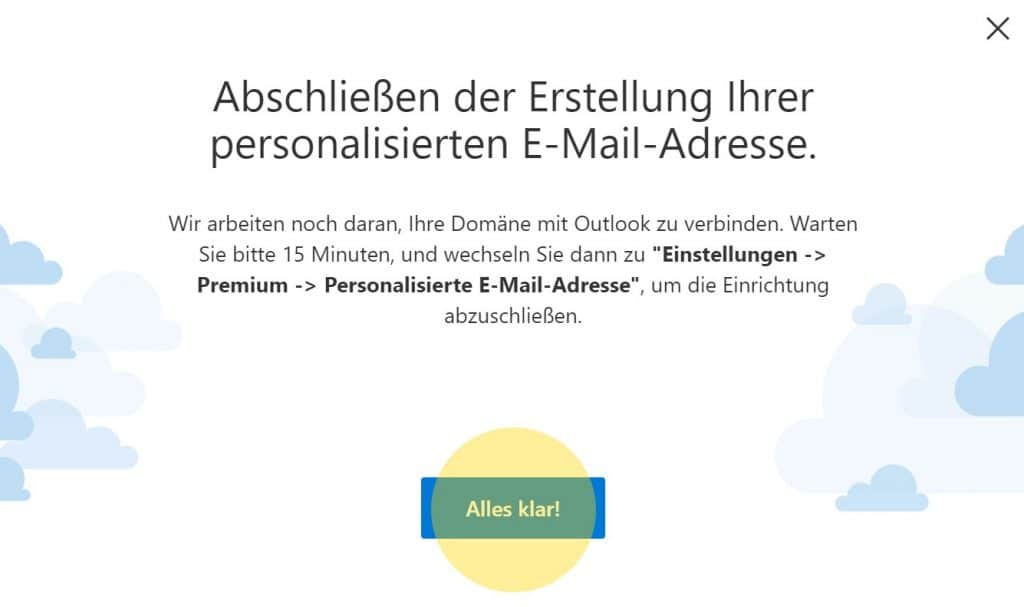 Outlook Domain GoDaddy 6