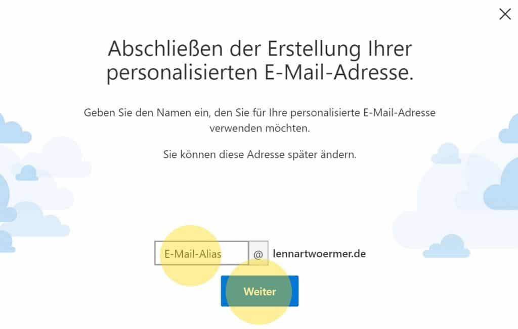 Outlook Domain GoDaddy 8