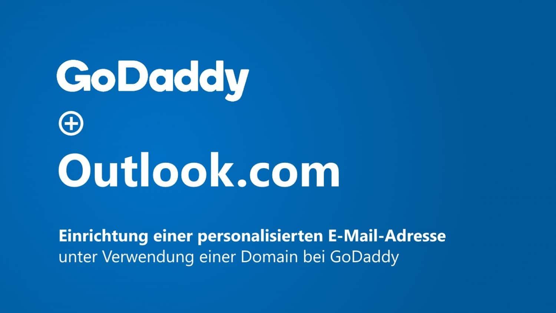 Outlook.Com Eigene Domain