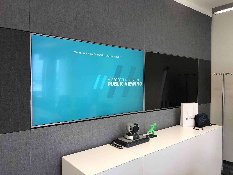 Microsoft Build 2019 Public Viewing Start