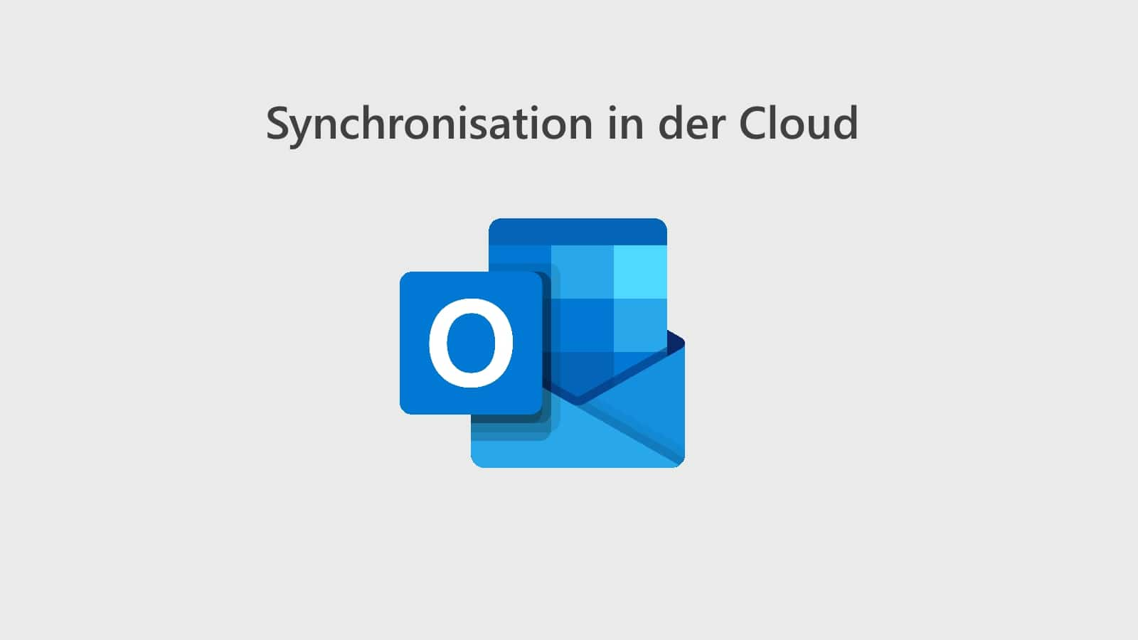 Outlook Einstellungen Cloud Synchronisieren Titelbild