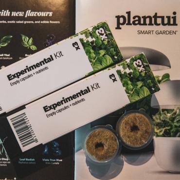 Plantui Smart Garden Accessories Experimental Kit 01 Square